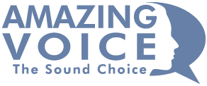 Amazing Voice Logo